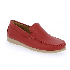 Mocassin Patric- Rouge