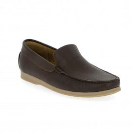 Mocassin Patric- Marron