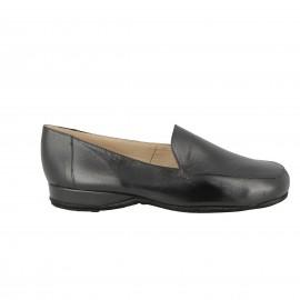 Slipper cuir Xalan- Noir